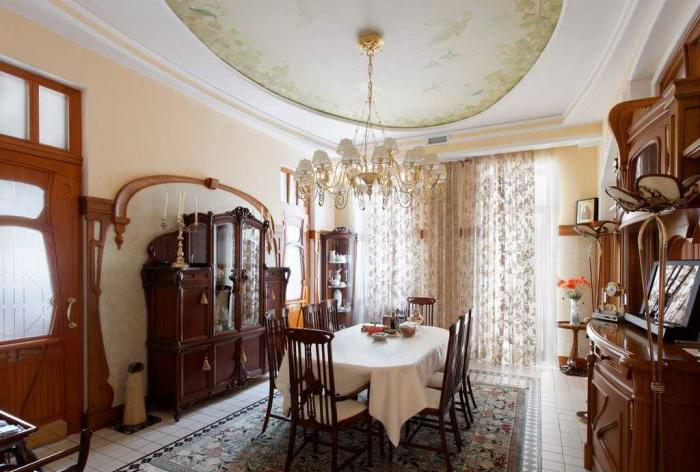 In stile Art Nouveau all'interno dell'appartamento