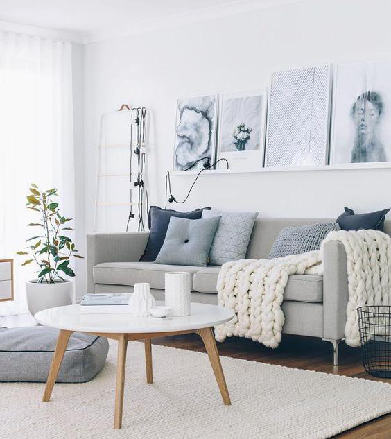 Interior design in stile scandinavo
