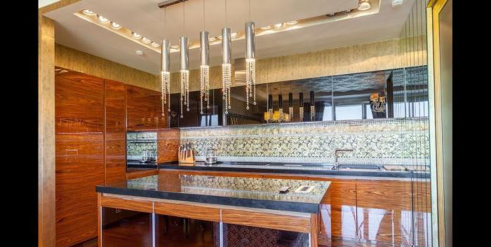 Interno cucina Art Deco