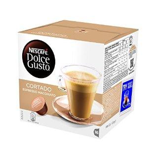 NESCAFÉ DOLCE GUSTO CORTADO ESPRESSO MACCHIATO caffè macchiato 16 capsule (16 tazze)