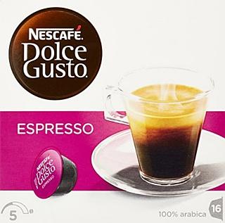 NESCAFÉ DOLCE GUSTO ESPRESSO caffè espresso 16 capsule (16 tazze)
