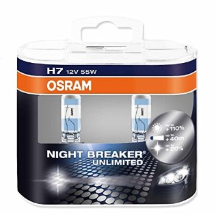 Recensioni dei clienti per OSRAM NIGHT BREAKER fari H7 illimitata, 64210NBU-HCB, 12V, Duobox | tripparia.it
