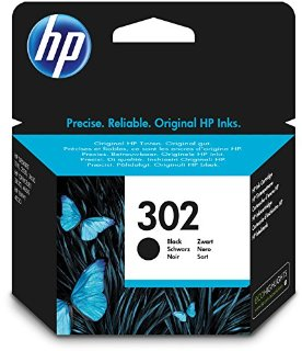 HP F6U66AE#UUS 302 Cartuccia Ink, Nero