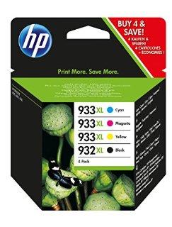 Recensioni dei clienti per Cartucce d'inchiostro HP 932XL / 933XL ad alta gamma 4-pack, nero / ciano / magenta / giallo | tripparia.it