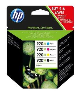 HP X4 920Xl Cartuccia di Inchiostro, Pacchetto di 4