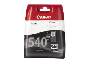 Canon 5225B004 Serbatoio Inchiostro Ink Pigmentato Blister Security Chromalife 100, PG-540, Nero
