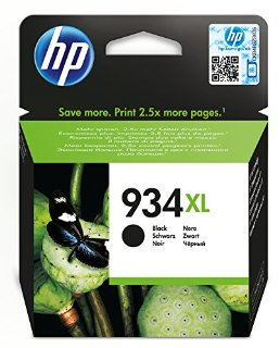 HP 934XL Cartuccia Originale Inchiostro, Nero