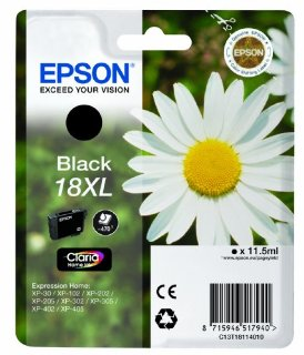 Epson C13T18114010 XL Inkjet / getto d'inchiostro Cartuccia originale