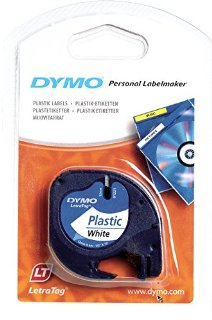 Recensioni dei clienti per Dymo LetraTag Etichettatura nastro da 12 mm x 4m in plastica - nero su bianco (Blister) | tripparia.it