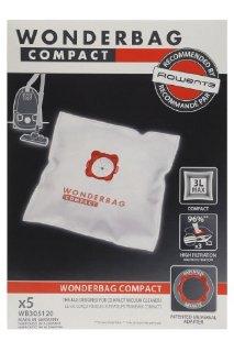 Rowenta WB305120 Set 5 Sacchi Wonderbag Compact Universali