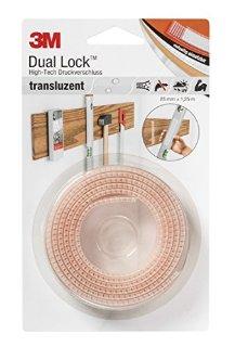 Recensioni dei clienti per Dual Lock 3M high-tech chiusura a pressione, il 25 mm x 1,25 m, traslucido, SJ356025 | tripparia.it