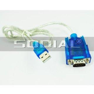 SODIAL(R) Cavo adattatore USB a RS232 SERIALE per DB9 PIN PL2303