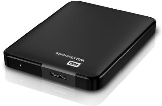 WD WDBUZG0010BBK-EESN Elements Hard Disk Esterno Portatile, USB 3.0, 1 TB