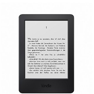 Kindle, schermo touch da 6