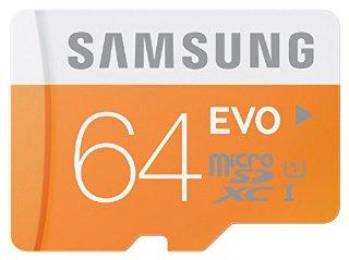 Recensioni dei clienti per Samsung scheda di memoria microSDHC 64GB GB EVO UHS-I Grado 1 Classe 10 per smartphone e tablet, con adattatore SD | tripparia.it