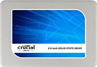 Crucial BX200 SSD Interno, 240GB SATA da 2,5 pollici (7 mm - con adattatore 9,5 mm)