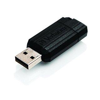 Verbatim 49064 Pendrive Unità USB PinStripe da 32 GB - Nera