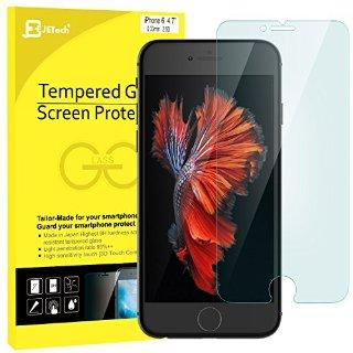 iPhone 6s Pellicola Protettiva, JETech® 3D Toccare Compatibile iPhone 6/6s Screen Protector Pellicola Protettiva ultra resistente in vetro temperato per Apple iPhone 6/6s 4.7 Inch