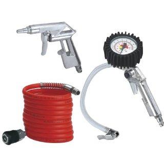 Einhell - Set ad aria compressa, 3 pezzi, accessori per compressore