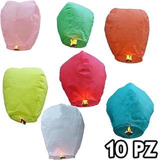 Recensioni dei clienti per Area - Set di 10 volantini lanterne, carta di riso, 90 x 50 x 36 cm | tripparia.it
