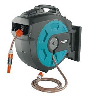 Gardena 8023-20, Avvolgitubo di Irrigazione a Parete con Avvolgimento Automatico