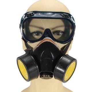 Recensioni dei clienti per SODIAL (R) anti polvere maschera lunetta vernice maschera antigas Protec respiratore chimico industriale | tripparia.it