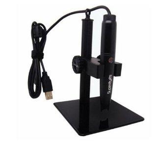 Supereyes B008 5.0MP 0.1 ~ 500X portatile USB Digitale Microscopio Ingrandimento con supporto metallo TE32
