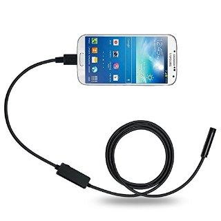 DBpower 8.5MM 5M 2MP Cellulare endoscopio per il sistema Android con OTG e UVC Funzione & Compatibile con il computer portatile (adattatore USB incluso)