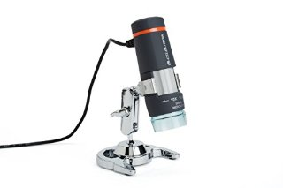 Microscopio digitale a mano usb CELESTRON 44302-B da 10x a 40x ingrandimenti fino a 150 su monitor