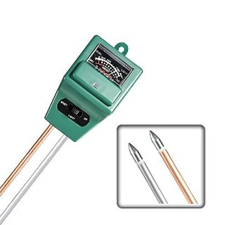 Mudder 3-in-1 Misuratore di umidità del suolo con impianto luce & funzione di misuratore PH Test