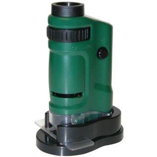 Carson - Microscopio Pocket con Zoom MicroBrite 20x - 40x con luce LED integrata