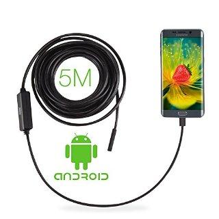 Recensioni dei clienti per GBB ATC50HD 2.0 megapixel CMOS OTG USB Android endoscopio digitale endoscopio 8,5 millimetri testa della telecamera ispezione fotocamera impermeabile con 6 bianco regolabile LED macchina fotografica di controllo del periscopio del tubo, cavo 5m, nero | tripparia.it