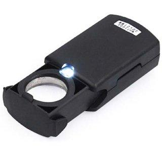 TRIXES Lente ingrandimento per gioiellieri con luce LED 30X21mm volte