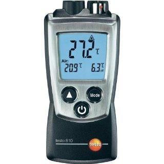 Testo 810 - Termometro a 2 canali infrarossi e temperatura ambiente