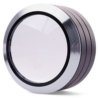 6X Portatile lente d'ingrandimento Magnifier Con LED Lampada Luce Light + Protettivo Custodia Borsa Caso Bag Per Loupe Reading TE064