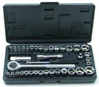 Rolson 36109 - Set da 40 chiavi a bussola