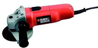 BLACK+DECKER CD115 Smerigliatrice angolare, 700 Watt