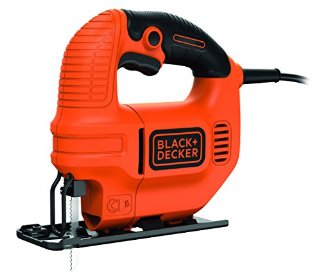 BLACK+DECKER KS501-QS Seghetto Alternativo Compatto, 400W