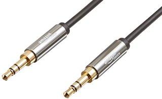 AmazonBasics - Cavo audio stereo maschio su maschio 3,5 mm, 1,2 m