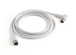 Meliconi - Cavo Antenna con Plug 90° - 2 m