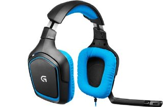Logitech G430 Cuffia Gaming Surround Sound per PC e PS4, Nero, Versione Italiana