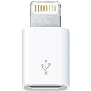 Apple Adattatore da Lightning a micro USB MD820ZM A bianco in bulk pack