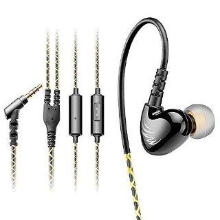 AGPTek Auricolare In-ear Fare Sport(La riduzione del rumore, 3.5mm) , Verde