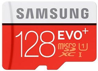 Samsung Evo Plus MB-MC128DA Scheda Micro SDXC, Arancio