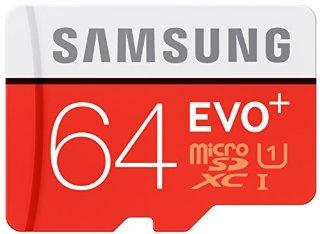 Samsung Evo Plus MB-MC64DA Scheda Micro SDXC, 64 GB, Argento