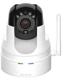 D-Link DCS-5222L Videocamera di Sorveglianza, Monitor HD, Cloud, Wireless N, Visore Notturno fino a 8 Metri, Motorizzata Pan/Tilt/Zoom, Zoom 10X, Notifiche Push per iPhone/iPad/Smartphone, Bianco