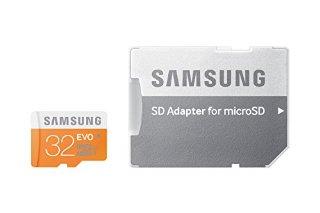 Samsung MB-MP32DA/EU Scheda Micro SD UHS-I CLASS 10 32GB con Adattatore, Argento