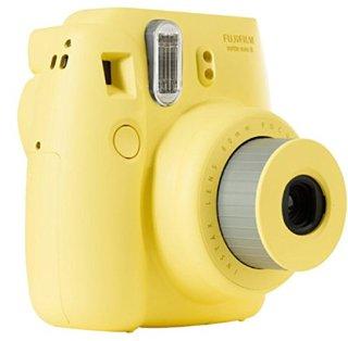 Fujifilm Instax Mini 8 Fotocamera Istantanea per Stampe Formato 62x46 mm, Giallo
