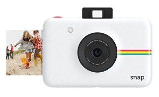 Polaroid Snap Fotocamera Digitale a scatto istantaneo (Bianco) con Tecnologia di Stampa a Zero Inchiostro ZINK