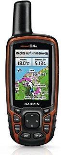Garmin GPSMAP 64S GPS Portatile Impermeabile, Schermo Colori 2,6
